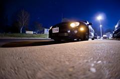 257/365 I'll Miss You When You Leave This Place (Rob Rabon Photography) Tags: 2005 3 black car night photography nikon rob fisheye turbo adobe dodge 28 365 105 lightroom srt4 d90 rabon