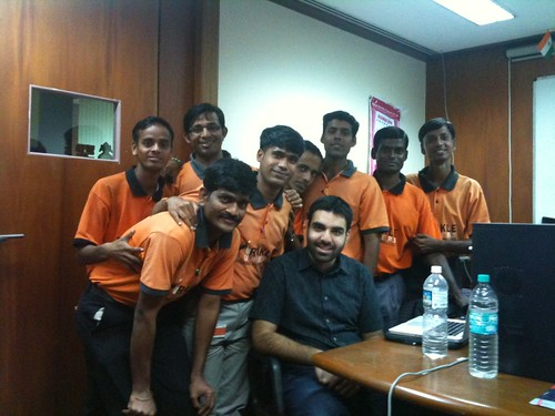 Andheri boys with Rohan