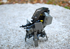 War Tick (Ironsniper) Tags: war tick mecha tachikoma tablescrap