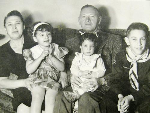1955 Freda,Ellen,Sam,Janet.Ken