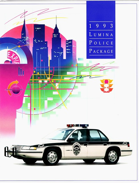 chevrolet police 1993 brochure lumina