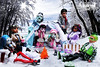Winter Wonderland (mhscreamqueen) Tags: monster high frankie cleo deuce lagoona ghoulia clawdeen draculaura draculogan