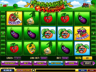 Farmer's Market slot game online review
