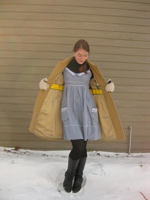Chain Letter Dress