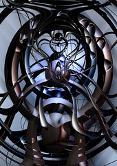 Post Synaptic (Shamadelic) Tags: original abstract colour art texture digital photoshop spiral design cg message spirit centre alien digitalart surreal sphere guide organic psychedelic 2d shaman trance chemical molecule ayahuasca transcend