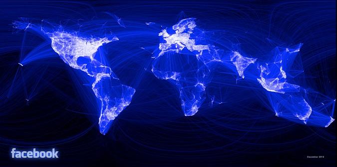 Визуализация связей пользователей Facebook
