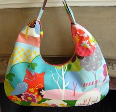 The Owl Shoulder Bag (EmilySue) Tags: bag momo moda shoulder hobo zippered itsahoot