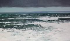 mar cantabrico-cantabria (oleos y acuarelas-Rubn de Luis) Tags: espaa marina mar cantabria marcantbrico