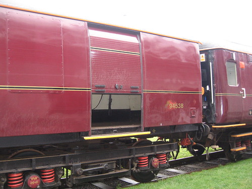 Baggage Car for Charter Train