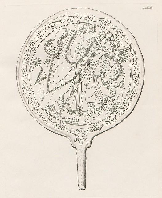 Etruskische Spiegel by Eduard Gerhard, 1840s l