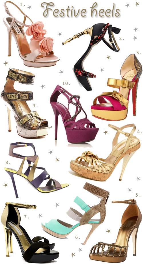 Festive Heels