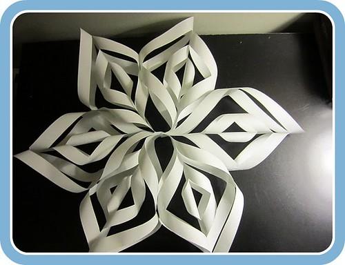 Pinwheel Snowflakes