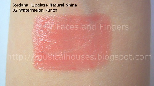 jordana lip shine natural glaze 2