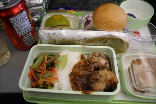 EVA航空の機内食