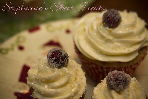 Cranberry Orange Cupcakes 1