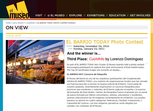 Winner of The El Barrio Today Photo Contest: Cuchifrito!