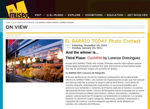 Winner of The El Barrio Today Photo Contest: Cuchifrito!