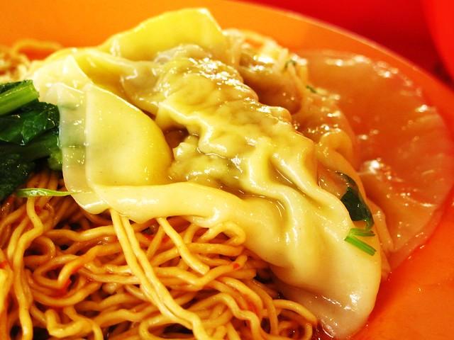 IMG_0175 难吃的水饺面,新加坡