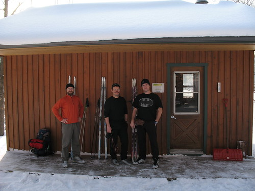 Lusk Cabin trio
