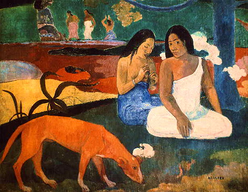 Arearea (Joyousness), 1892, Paul Gauguin