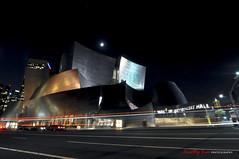 Walt Disney Concert Hall (GQjai) Tags: ca la losangeles nikon downtown nightshot tokina f28 waltdisneyconcerthall d90 1116mm gqjai