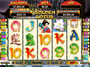 Golden Lotus slot machine