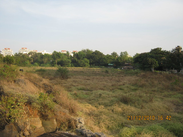 Site - View from Vishrantwadi Lake - Nandan Euphora  2 BHK & 3 BHK Flats at Dasharath Nagar, Airport Road, Vishrantwadi, Pune 411 015