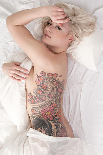 According to several tattoo artists, there are more women going for tattoos on their rib cage than men. It seems as if the female population