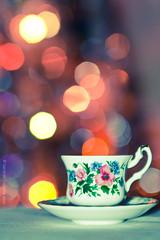 cup of joy (Geekr) Tags: christmas xmas tree cup lights bokeh joy luci merry natale