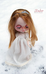 A Princess in the snow