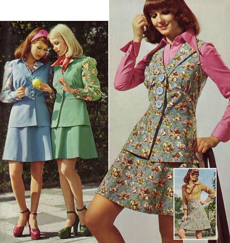 Summer Dresses 70s Style 1975: Retrospace: Mini Skirt Monday #62: Miniskirt '74
