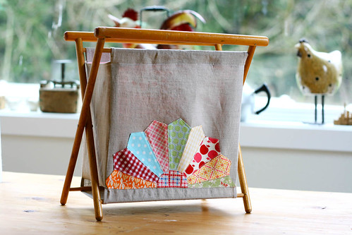 Folding Knitting/Sewing Basket