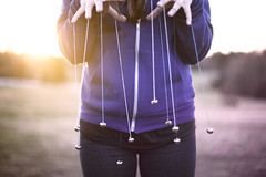 (Steven Sites) Tags: woman girl field bells canon eos 50mm hoodie emily mark f14 fingers stevens chick ii flare zipper string 5d steven attached jingle chiquita sites emilystevens stevensites