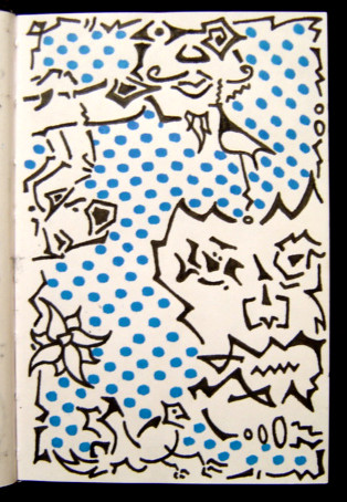 Mini Sketchbook #1 - Jan-Dec 2000