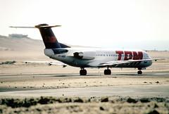 109aq - TAM Fokker 100; PT-MQG@IQQ;14.09.2000
