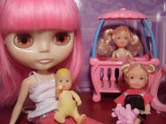 Baby-Sitting for Barbie (clones that is)