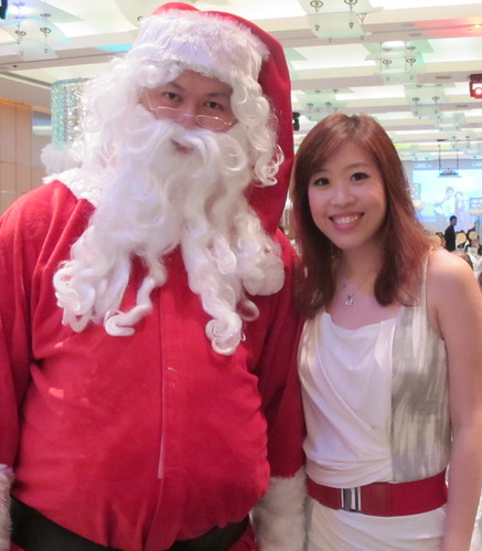Santa and me (25 Dec 11)