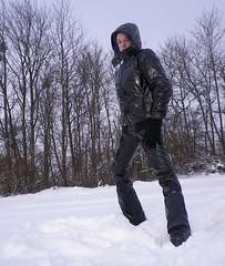IMGP1003 (Karhu1) Tags: schnee snow shiny jacket nylon snowsuit jacke overall skianzug