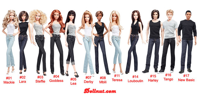 Barbie Basics collection 2.0