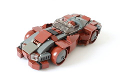 Rattle Snake GT-12 (Louis K.) Tags: brown car race lego cole snake gt rattle reddish blaq gt12