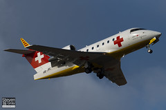 HB-JRC - 5540 - REGA Swiss Air Ambulance - Canadair CL-600-2B16 Challenger 604 - Luton - 100209 - Steven Gray - IMG_7016