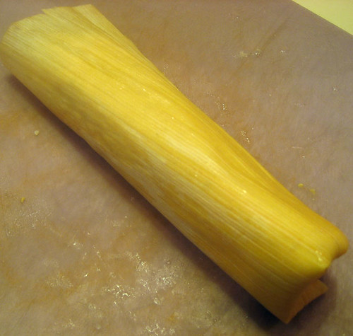 husk wrapped tamale