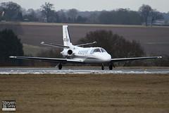 EC-KJR - 551-0412 - Nord Jet Airlines - Cessna 551 Citation II SP - Luton - 100224 - Steven Gray - IMG_7289