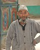 At the entrance to his home (**El-Len**) Tags: door travel family people rural uighur xinjiang uyghur groupportrait ethnic eastturkestan chineseturkestan thegalleryoffinephotography