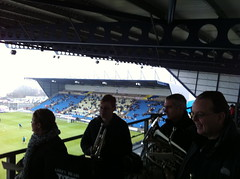 at the top of kassam stadium 2