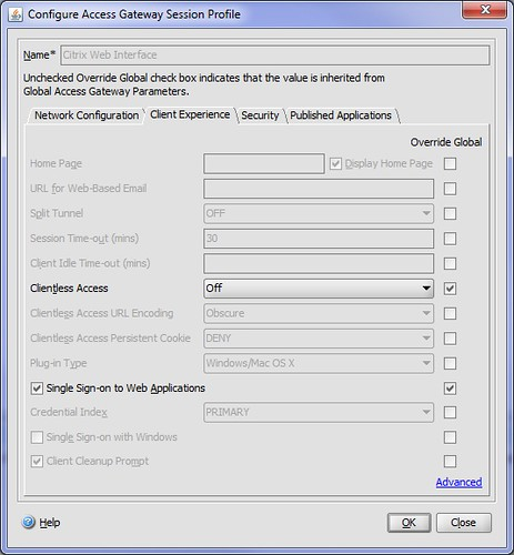 Laurence !Blog!: Netscaler and Citrix Web Interface Setup