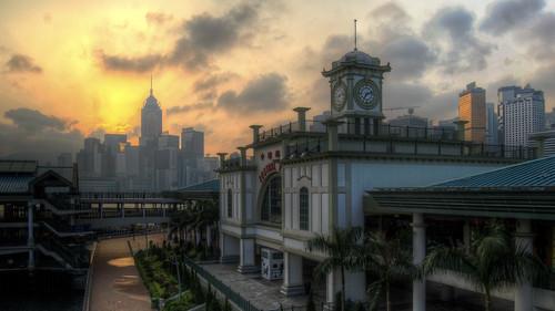 HDR: HK Sunrise by Edward Allen L. Lim, on Flickr