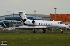 N498QS - 1398 - Netjets - Gulfstream IV SP - Luton - 100513 - Steven Gray - IMG_0972