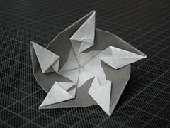 Pentagonal flower
