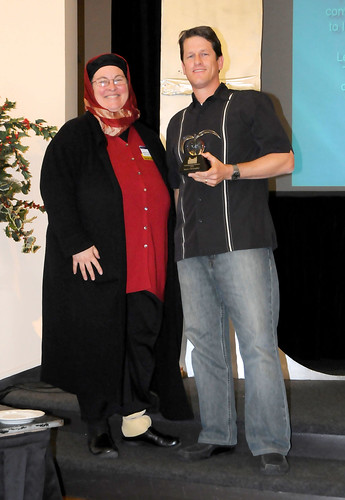 Steve Christopher (accepted by Brant Bosley) - Distinguished Member Award